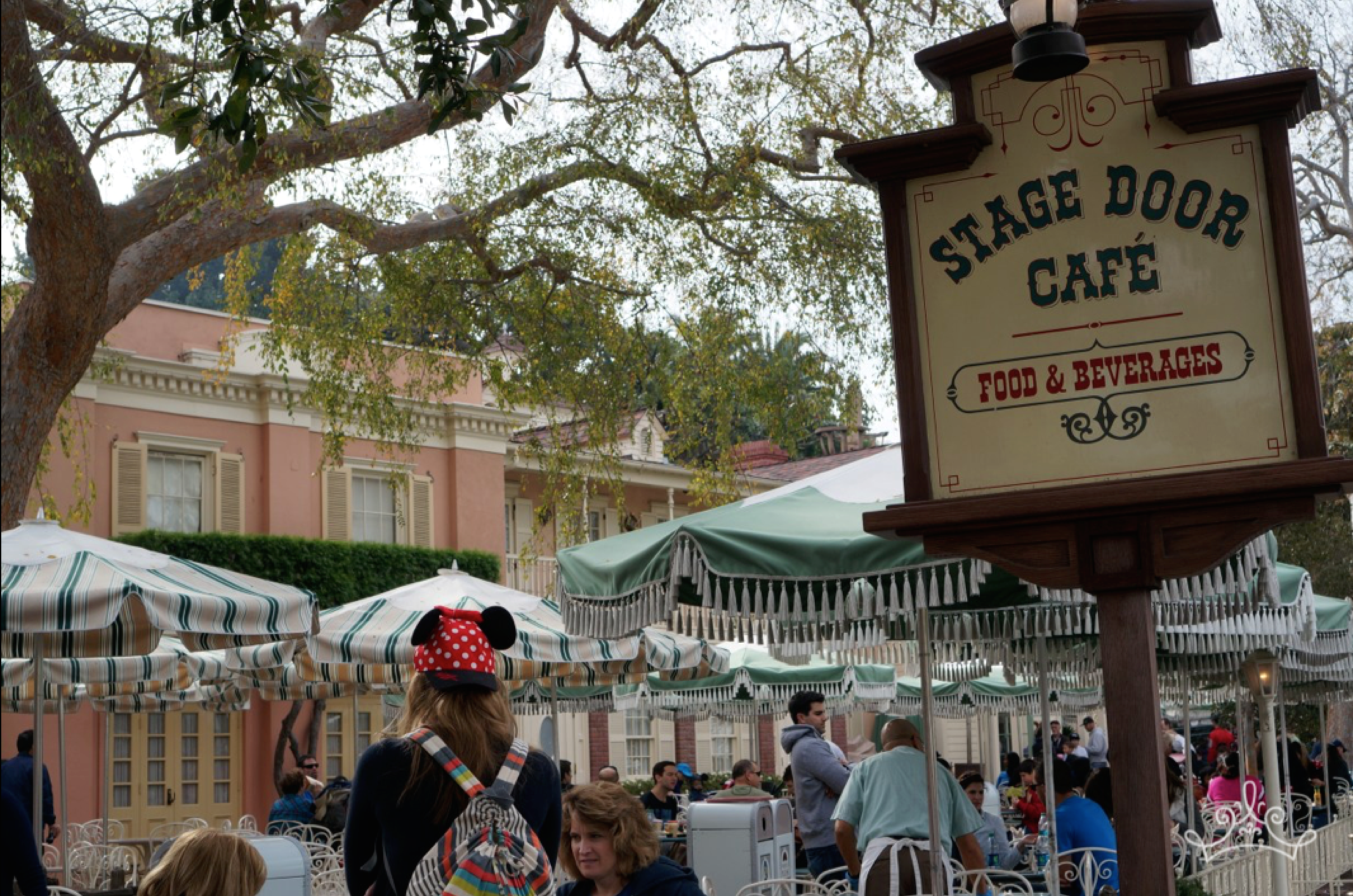 The Stage Door Cafe In Disneyland S Frontierland