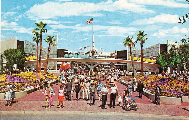 Tomorrowland On The Move 1967 Expansion And Renovation