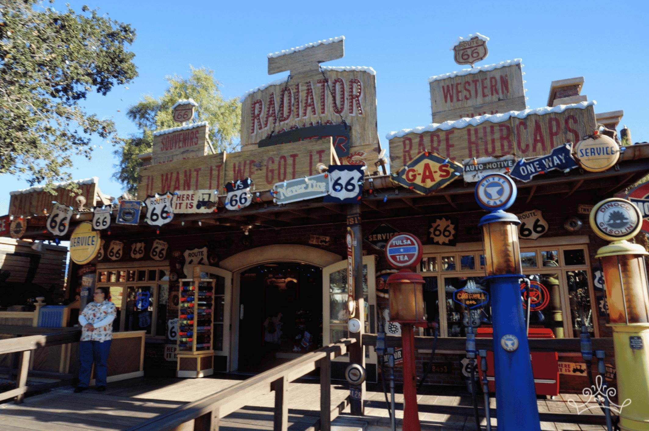 Radiator Springs Curios In California Adventure S Cars Land